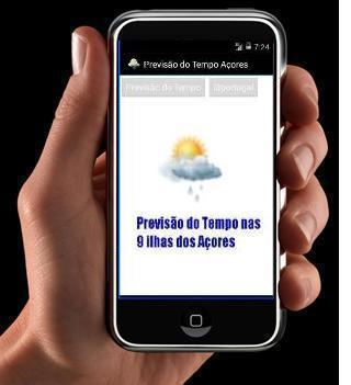 Previsão Estado Tempo Açores