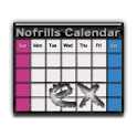 No frills Calendar EX icon