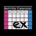すっぴん カレンダー EX (ウィジェット) icon