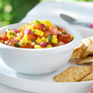 Fresh Corn Salsa.