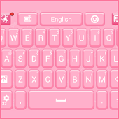 GO Keyboard Pink Hearts
