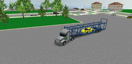 3D Car transport trailer truck a fun truck simulator game download now!