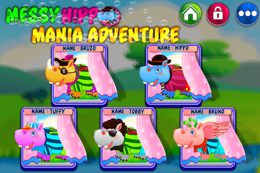 Messy Hippo Mania Adventure