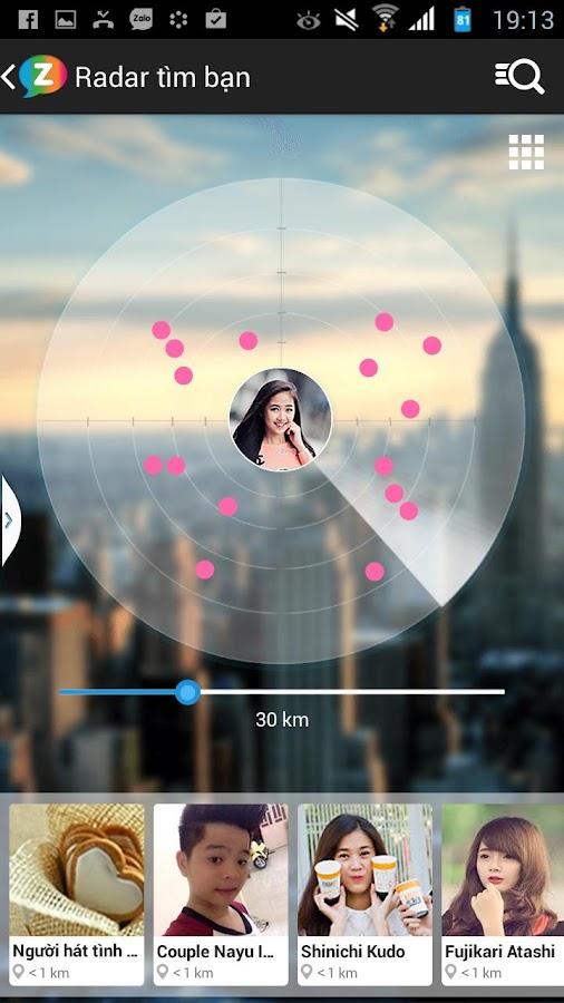 Zing Me - Tìm bạn - Chat vui - screenshot