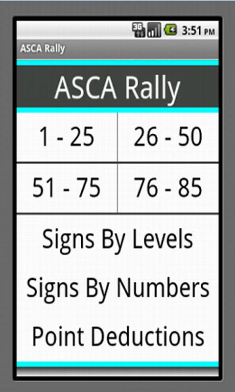ASCA Rally Obedience - screenshot