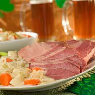 Pub-style Corned Beef & Cabbage.