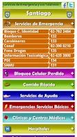 Screenshot of Servicios de Utilidad Chile