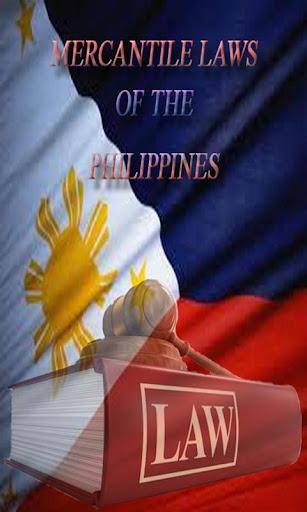 PHILIPPINE MERCANTILE LAWS
