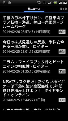 株の新聞・株式ニュース