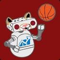 LAF Football & Basketball logo
