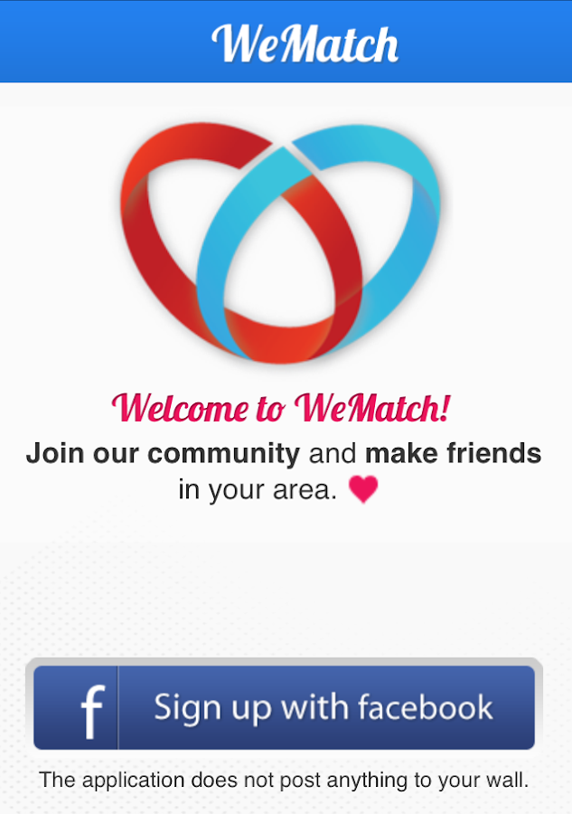 WeMatch - screenshot
