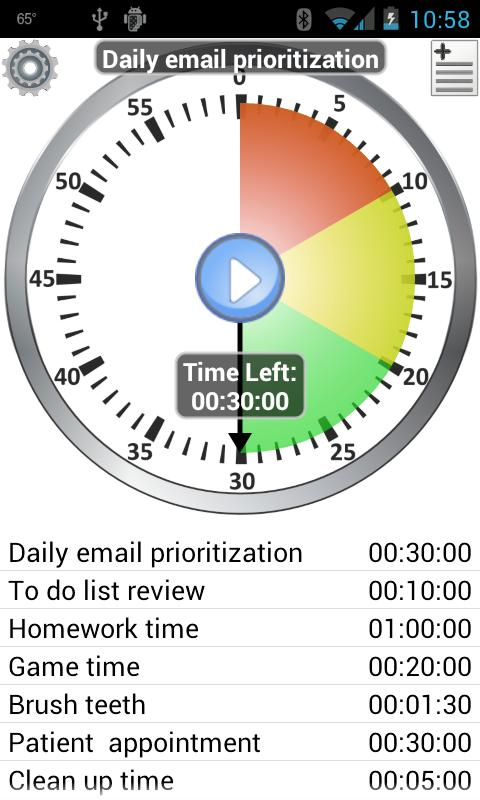 Activity Timer - Productivity - screenshot