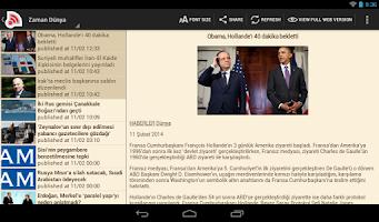 Screenshot of Haber Türk