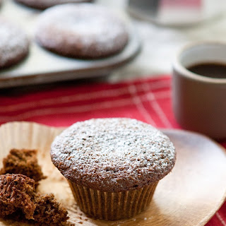 Whole Grain Gingerbread Muffins