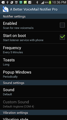 Better VoiceMail Notifier Pro