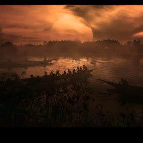 by Pantouw David - Landscapes Waterscapes