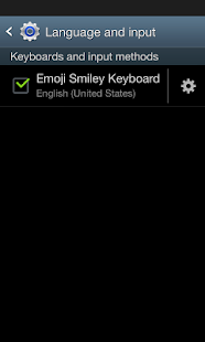 Emoji Smiley Keyboard - screenshot thumbnail