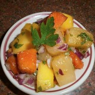 Caribbean Fruity Salsa.
