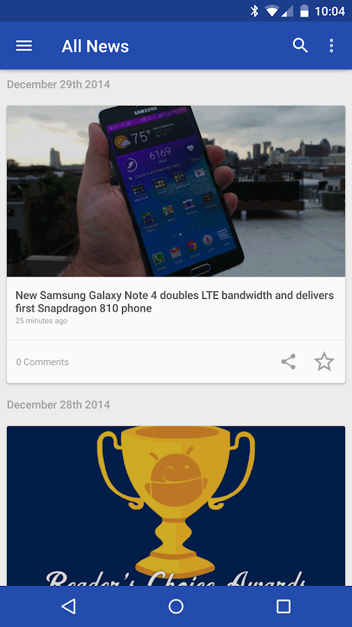 Phandroid News for Android™ - screenshot