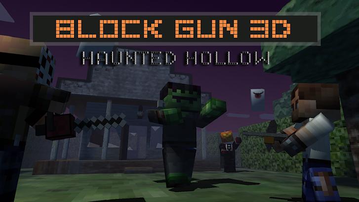 Block Gun 3D: Haunted Hollow screenshot
