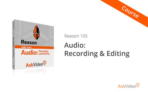Record Edit Audio in Reason