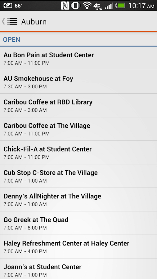 Official Auburn University App - screenshot