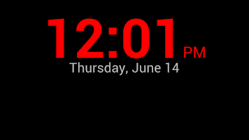 Screenshot of Night Clock for Desk FREE