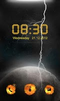 Screenshot of Doomsday GO Locker Theme