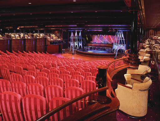 Norwegian-Spirit-Theater - When cruising on the Norwegian Spirit, be sure to take in one of the Stardust Theater's Vegas- and Broadway-style productions.