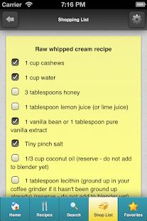 Rawtarian's Raw Recipes - screenshot thumbnail