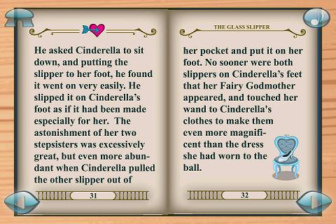 Cinderella 3D Pop-up Book Lite - screenshot