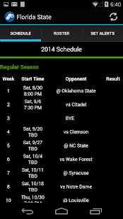 NCAA Football Scores & Alerts