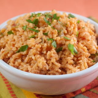 Cheesy Mexican Rice