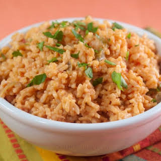 Cheesy Mexican Rice.