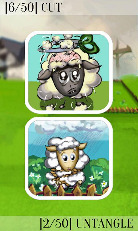 Cut a Sheep!- screenshot
