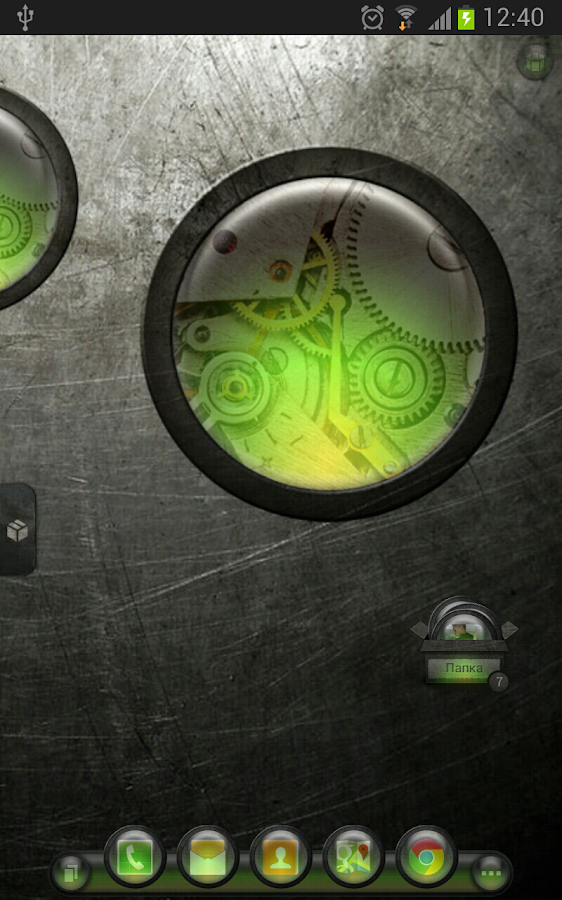 TSF Shell Theme EventGlassG HD - screenshot