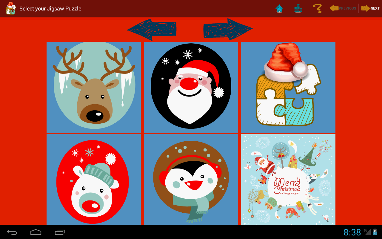 Christmas at Jigsaw Puzzles - screenshot