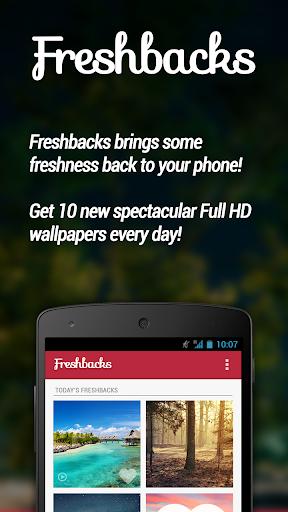 Freshbacks - Daily Wallpapers