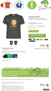 Camisetas Los Camisetos screenshot 5