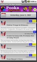 Screenshot of 1861 Sept Am Civil War Gazette