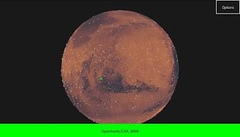 Screenshot of Mars 3D