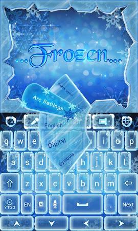 Frozen GO Keyboard Theme 3.87 screenshot 636200