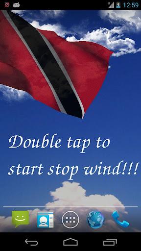 3D Trinidad Tobago Flag LWP