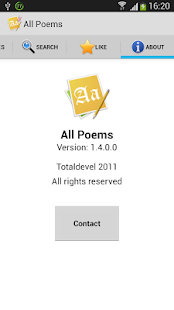 All Poems (Free) - screenshot thumbnail