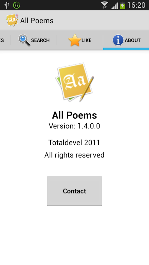 All Poems (Free) - screenshot