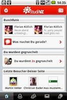 Screenshot of VZ-Netzwerke