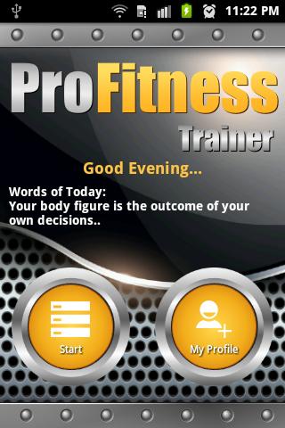 ProFitness Trainer Gym Home