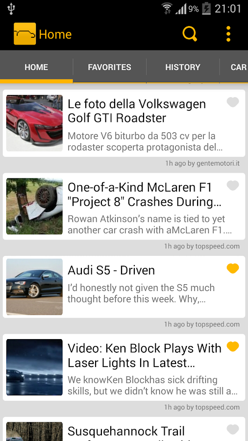 Car News - screenshot