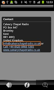 Calvary Chapel Radio- screenshot thumbnail