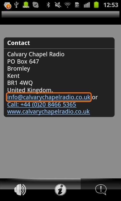 Calvary Chapel Radio - screenshot